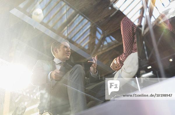 sprechen,Mensch,Büro,Menschen,Geschäftsbesprechung,Besuch,Treffen,trifft,Business