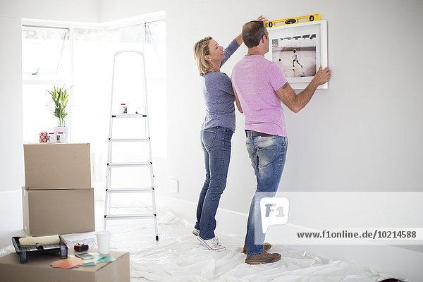 benutzen Europäer Eigentumswohnung neues Zuhause