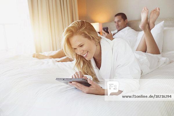 Entspannung Bett Hotel