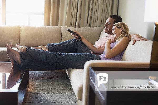 sehen Couch Fernsehen