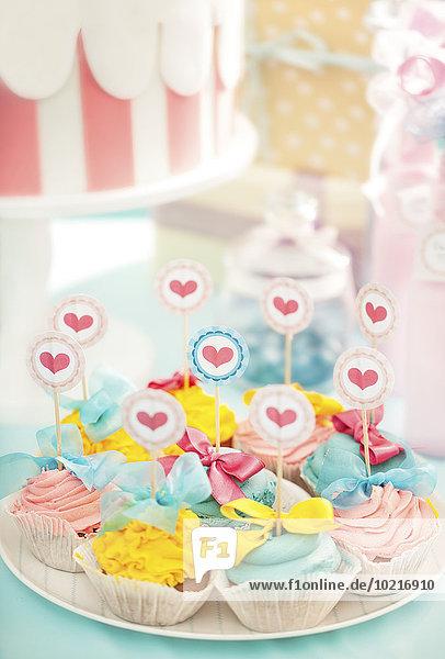 Party Teller Geburtstag cupcake
