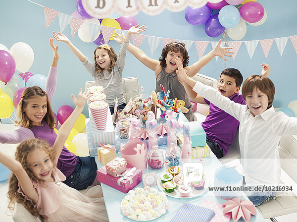 Party jubeln Geburtstag