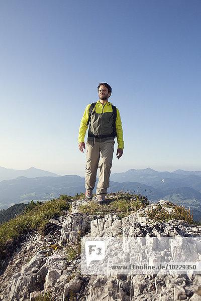 Österreich  Tirol  Wandern am Unterberghorn