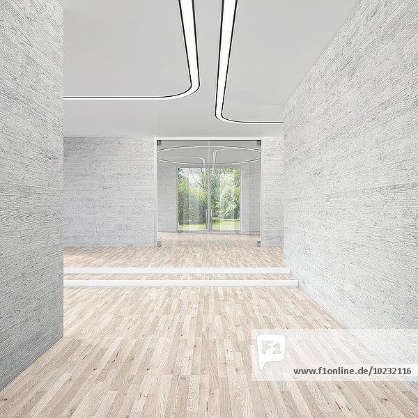 Moderner Konferenzraum  3D-Rendering