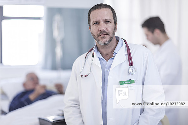 Portrait des Arztes im Krankenhaus