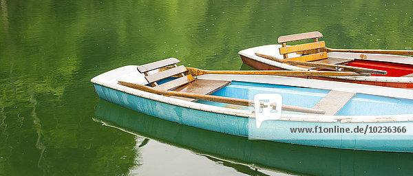 Deutschland  bei Oberstdorf  Freibergsee  Ruderboote