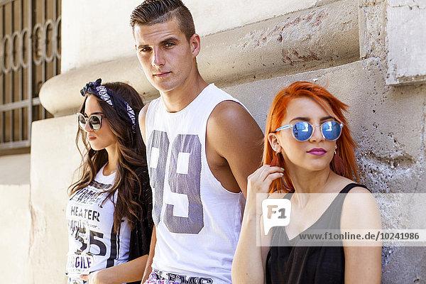 Mensch Lifestyle Menschen jung Mode Hippie
