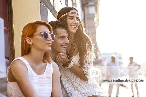Kälte Mensch Lifestyle Menschen jung Mode Hippie