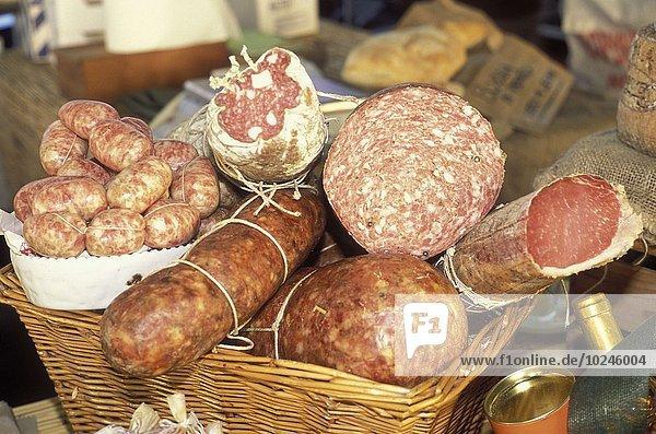 Fleisch kochen Italienisch Schweinefleisch Schwein