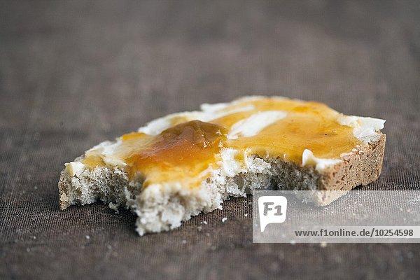 Brot Butter Marmelade