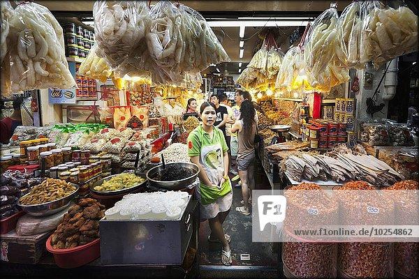 Bangkok Hauptstadt Laden Markt Thailand