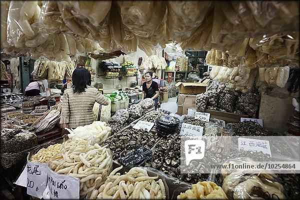 Bangkok Hauptstadt Blumenmarkt Markt Thailand