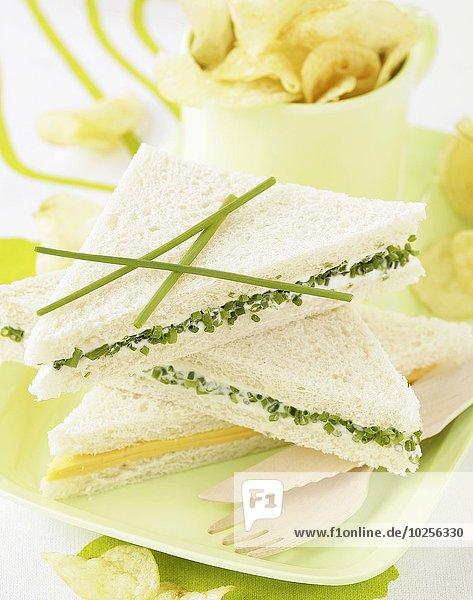 Brot weiß Sandwich