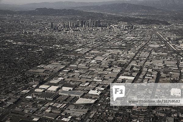 Luftaufnahme des Stadtbildes von LA  Kalifornien