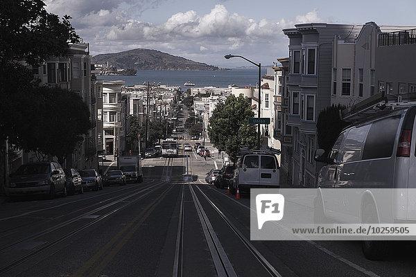 Auto,Gebäude,Straße,Großstadt,parken,vorwärts