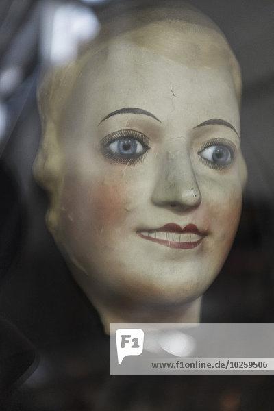 Nahaufnahme der weiblichen Statue