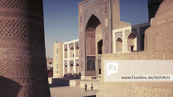 Außenansicht der Moschee in Poi Kalyan  Buchara  Usbekistan
