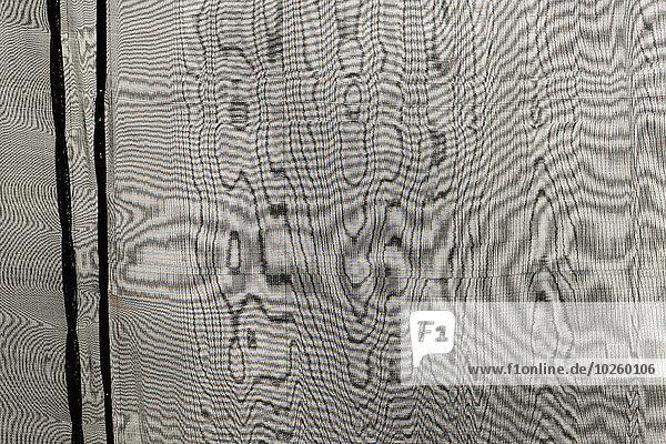 Vollbildaufnahme des Vorhangs