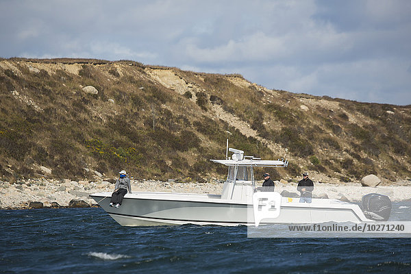 Amerika Küste angeln Verbindung Atlantischer Ozean Atlantik Massachusetts