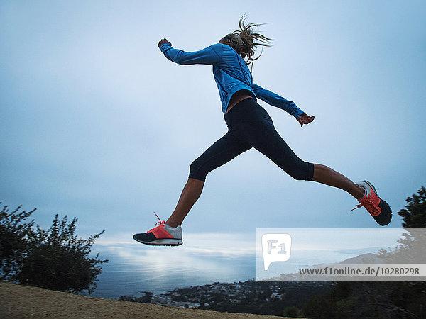 Frau Berg rennen