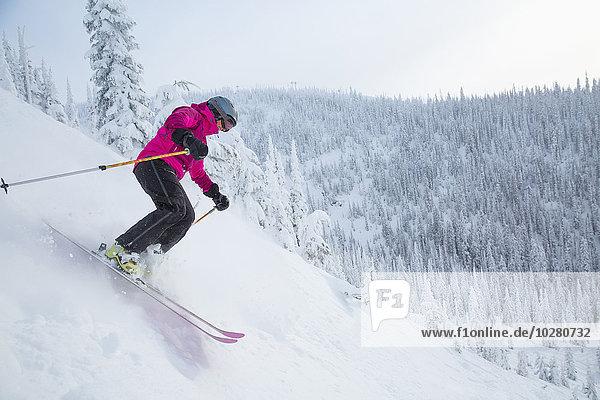 Frau Skisport