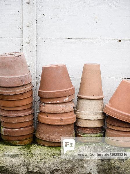 Haufen Blume Keramik