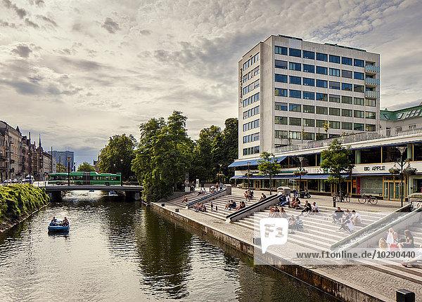 Schweden  Skane  Malmö  Bauen am Kanal Schweden, Skane, Malmö, Bauen am Kanal