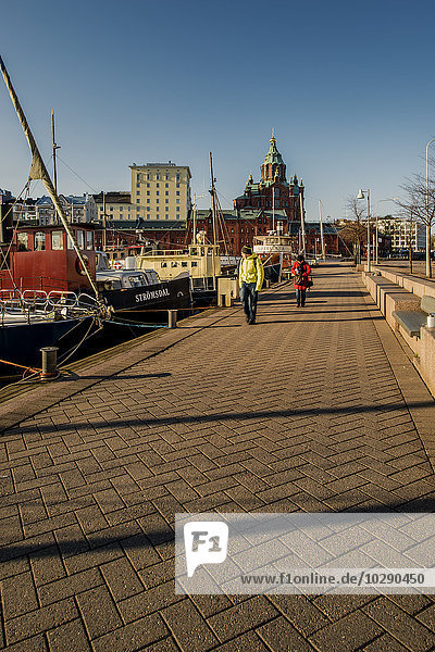 Finnland  Helsinki  Skatudden  Alter Hafen