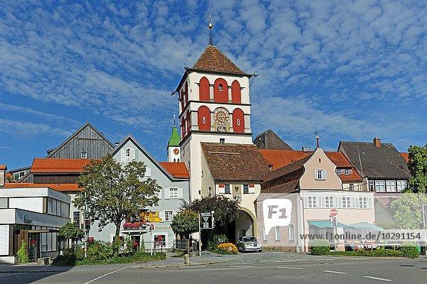 Martinstor  Wangen  Baden-Württemberg  Deutschland  Europa
