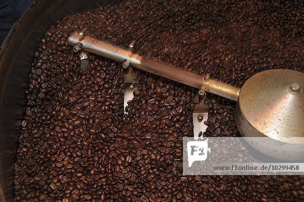 Gerösteter Kaffee  Rösterei  Hamburg  Deutschland  Europa