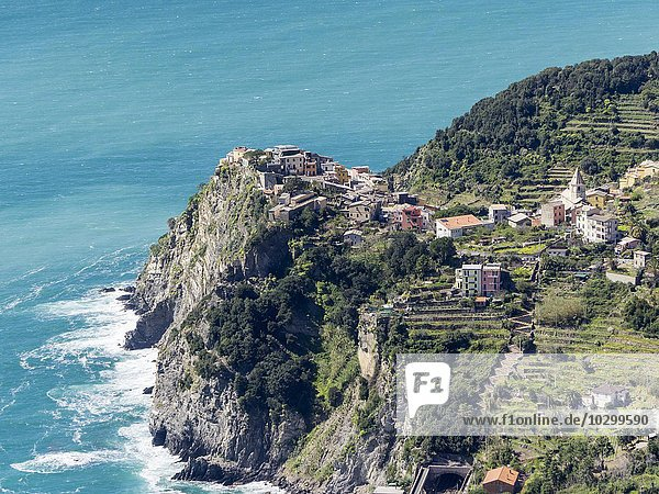Corniglia  Cinque Terre  Ligurien  Italien  Europa