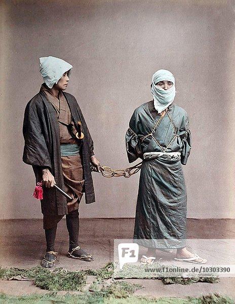 Gefangener Japaner  Japan  Asien