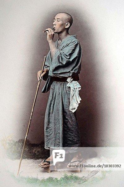Blinder Hirte  Japan  Asien