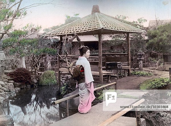 Okano Garten  Negishi  Tokyo  Japan  Asien