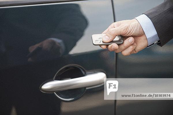 Schlüsselloser Zugang zum Auto