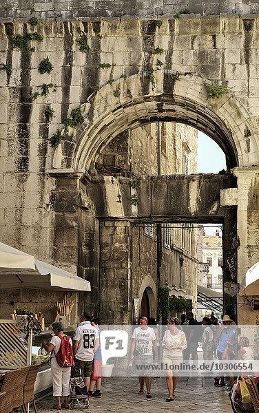 Croatia  Split  Western Gate  Iron Gate