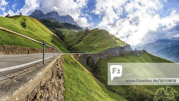 Schweiz  Kanton Uri  Klausenpass