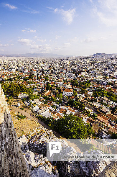 Griechenland  Athen  Stadtbild