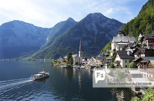 Österreich  Oberösterreich  Hallstatt am Hallstätter See