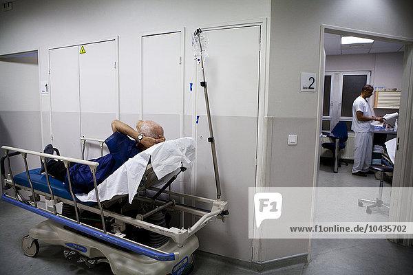 Paris Hauptstadt Frankreich Krankenhaus Heiligtum Saint Croix