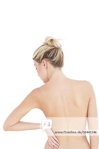 Rücken einer Frau