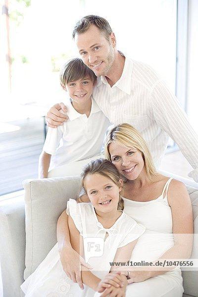 3 Mutter - Mensch Glückliche Familie