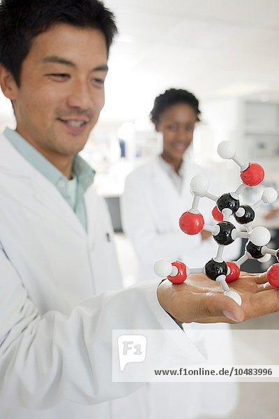 MODEL RELEASED. Chemists. Chemists