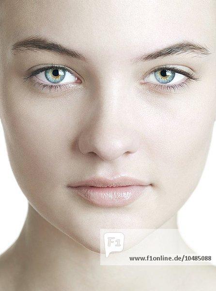 Healthy woman's face. Healthy woman's face