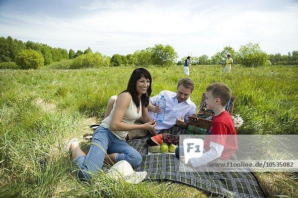 family at picninc