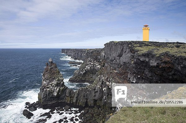 Leuchtturm Skálasnagi  Island  Europa