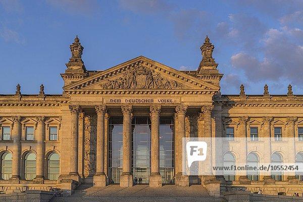 Deutscher Bundestag  Berlin  Deutschland  Europa