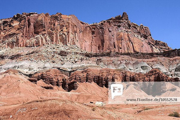 The Castle  Capitol Reef Nationalpark  Utah  USA  Nordamerika