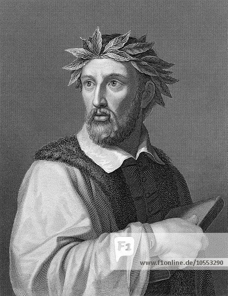 Torquato Tasso  1544  1595  Italian poet of the Counter  Reformation