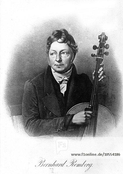 Bernhard Romberg  1772-1841  deutscher Komponist